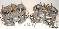 Weber Genuine 40 Idf Pair Carbes / Carburateurs Baisse Prix! Vw Air Cooled Etc