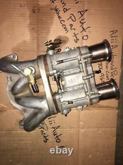 Weber Ida Idf Mazda 12a Intake Collecteur R100 Rx2 Rx3 Rx4 Rx7 Repu Racing Beat