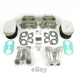 Weber Idf 40 Carburateur & Kit De Collecteur Pour Porsche 356-912