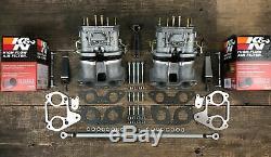 Weber Idf 40 Doppelvergaseranlage Vergaser Für Vw Bus T2 T3 Typ 4 Cu Cj 72-79