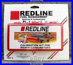 Weber Redline 40 44 45 Dcoe Idf Carburateur Carb Jet Jet Kit Nouveau