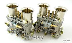 Weber Véritable 44 Idf Paire Carburants / Carburateurs 1899006100 Prix! Vwithford