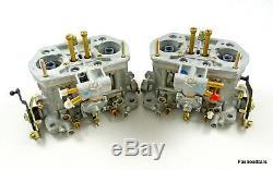 Weber Véritables Paires De 36 Carabines / Carburateurs Alfa Sud Sprint Veloce 1351/1490